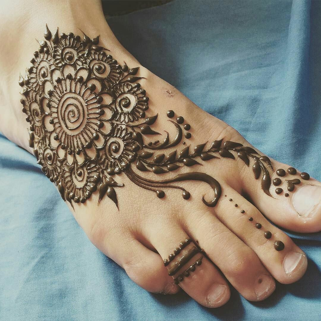 Simple Henna Foot Tattoo Designs: Henna Designs Feet, Foot Henna