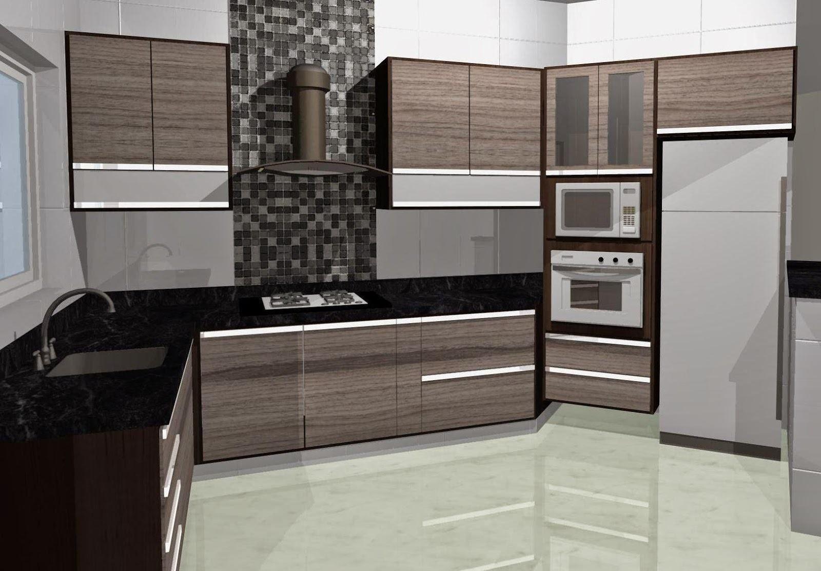 Confira As Mais Modernas E Belas Cozinha Planejada Em Mdf