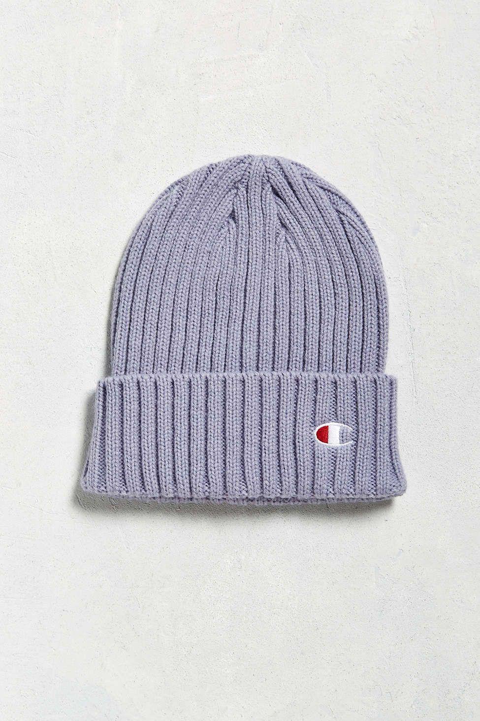 28794d5d74b38d Champion + UO Rib Beanie | Wish List | Beanie outfit, Beanie hats ...