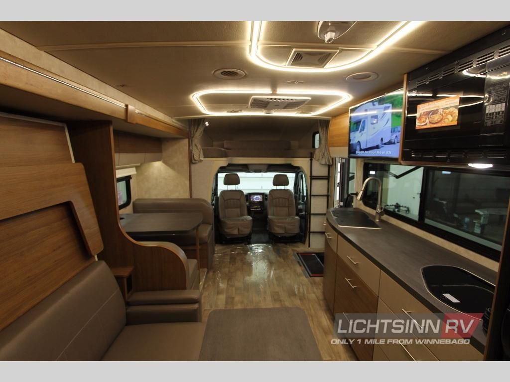 New 2018 Winnebago View 24d Motor Home Class C Diesel At Lichtsinn Rv Forest City Ia 718429a Winnebago Fuel Efficient Van Camping