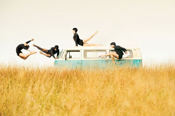"""Washington, D.C.-based photographer Cade Martin has created this artistic series of photos that capture the movement, strength, and grace of his subjects. For this series entitled """"Wonderland"""", Martin teamed up with several dancers from The Washington Ballet and photographed them against wondrous backdrops."""