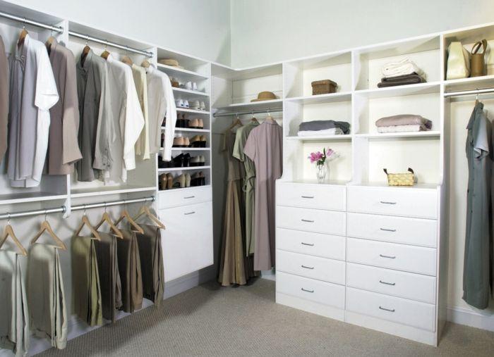 Fabulous Offener Kleiderschrank Beispiele wie der Kleiderschrank ohne T ren modern und funktional vorkommt