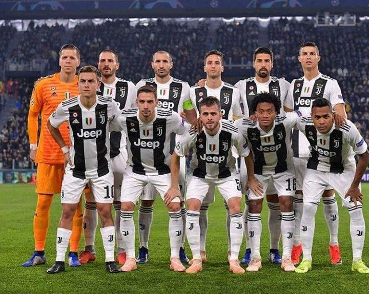 Juventus Vs Man United Squad Ucl Juventus Juventus Team