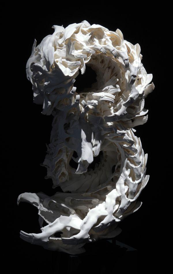 Motohiko ODANI - SP2 NewBorn \ - moderne skulpturen wohnzimmer