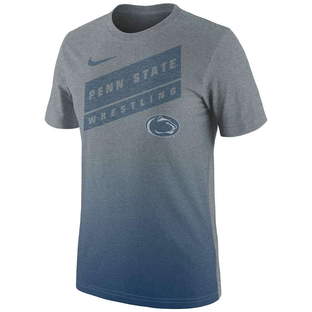 Penn State Nittany Lions Wrestling Nike Tri Blend Gradient T Shirt Ncaa Apparel Wrestling Shirts Shirts