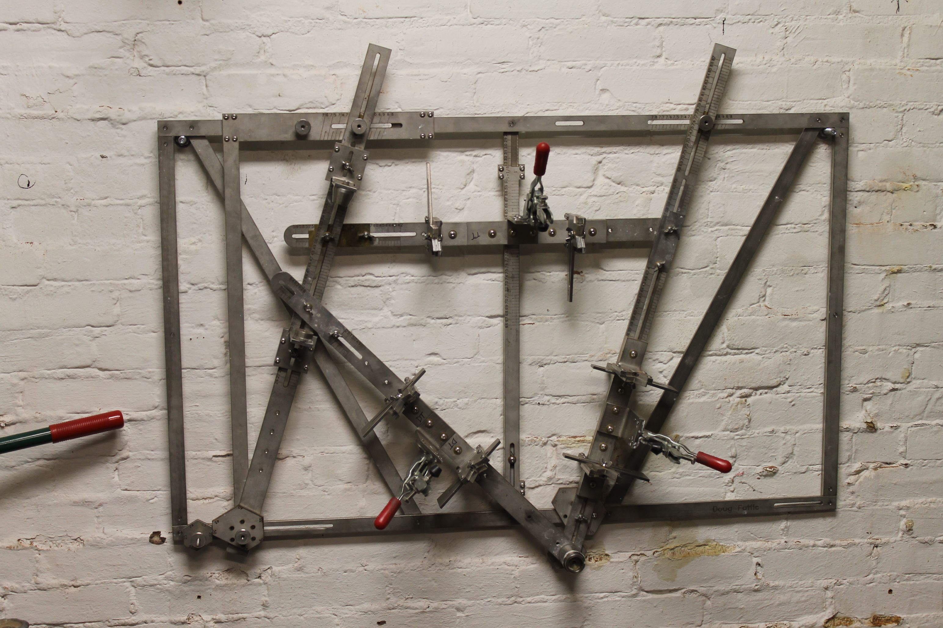 frame building jigs mitch pryor map bicycles ninelittletubes