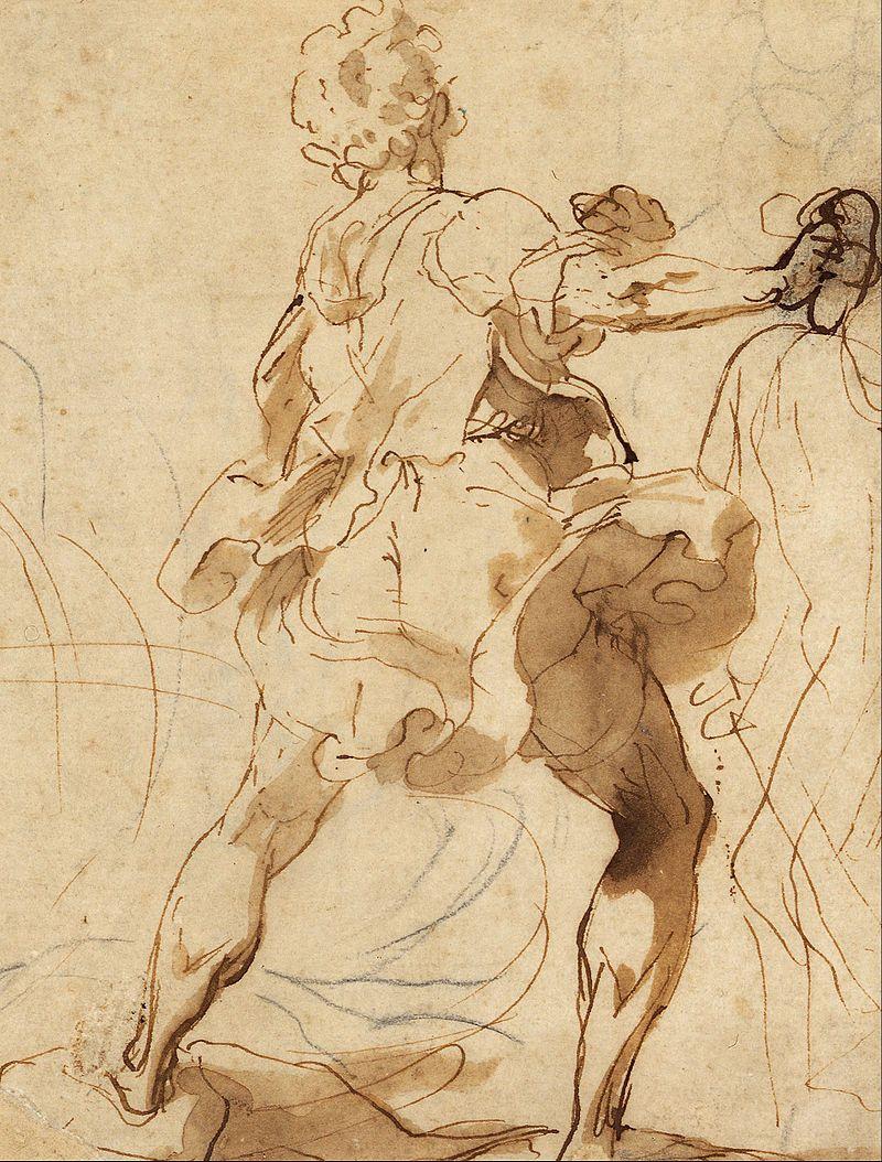 Картинки по запросу federico barocci drawing old man