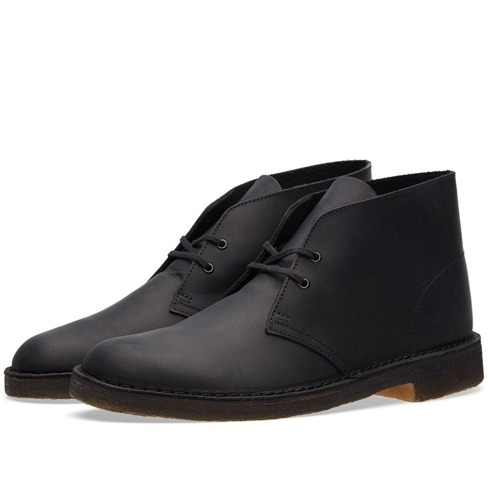 903eb5c65a31 Clarks Originals Desert Boot (Black Beeswax Leather)