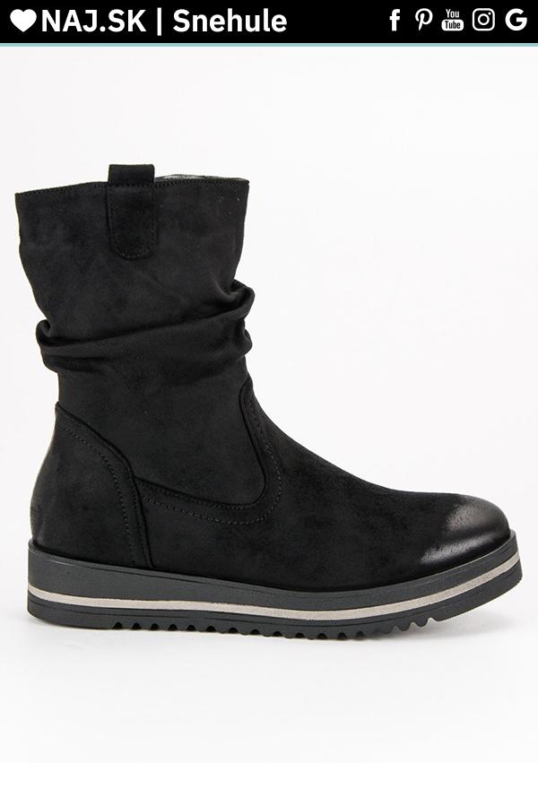 Pohodlné čierne topánky dámske VINCEZA v roku 2019  35614855da3