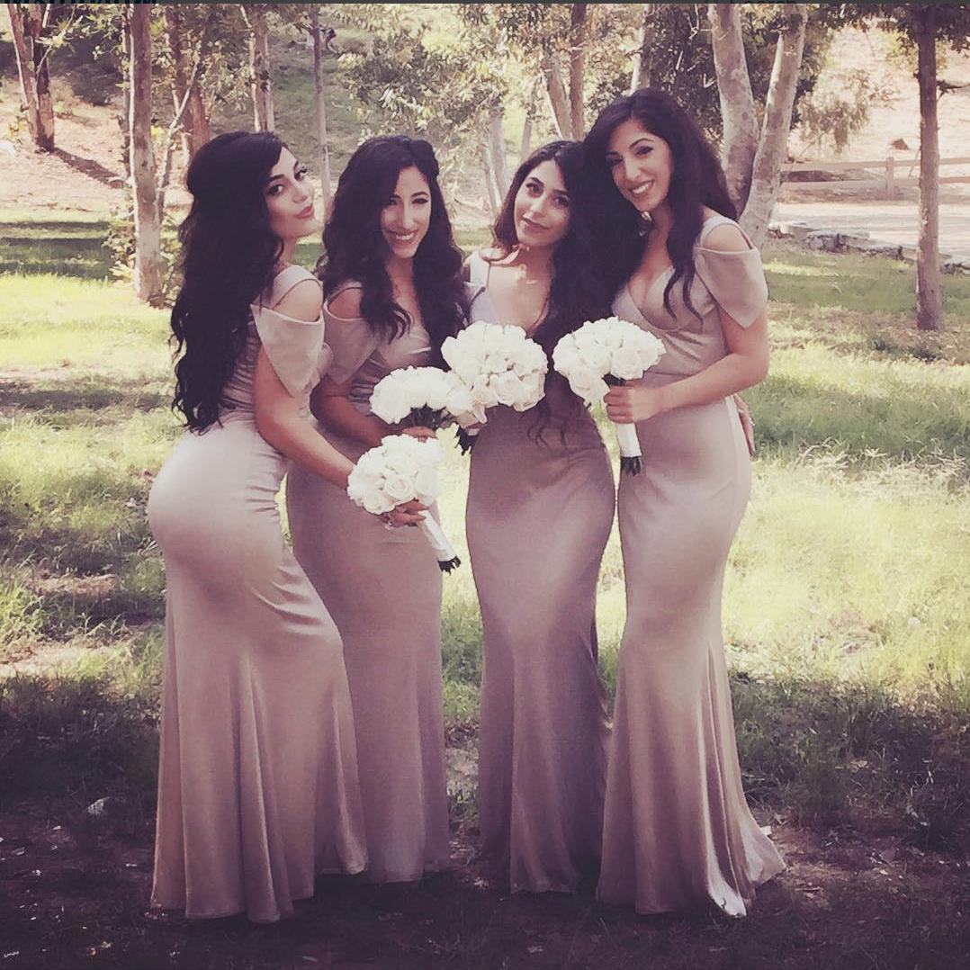 Wedding Entourage Hairstyle: Beautiful Bridesmaids. #mobilebridalsalon #makeup