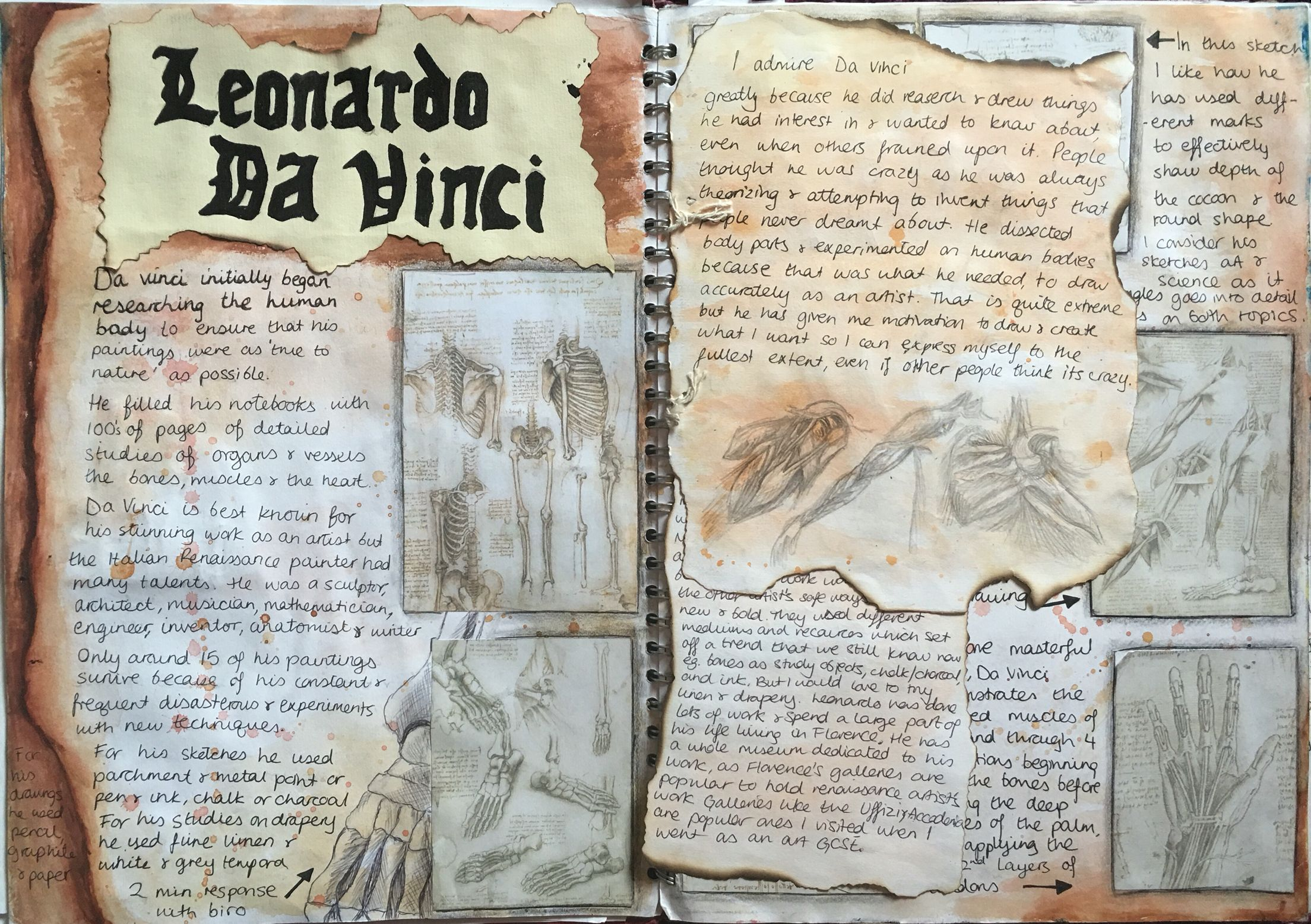 Artist Study Leonardo Da Vinci Part 1