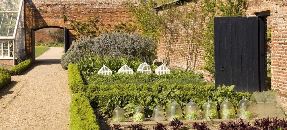 Image Result For Georgian Style House Attached To Walled Garden Victorian Gardens Garden Wall Kitchen Garden