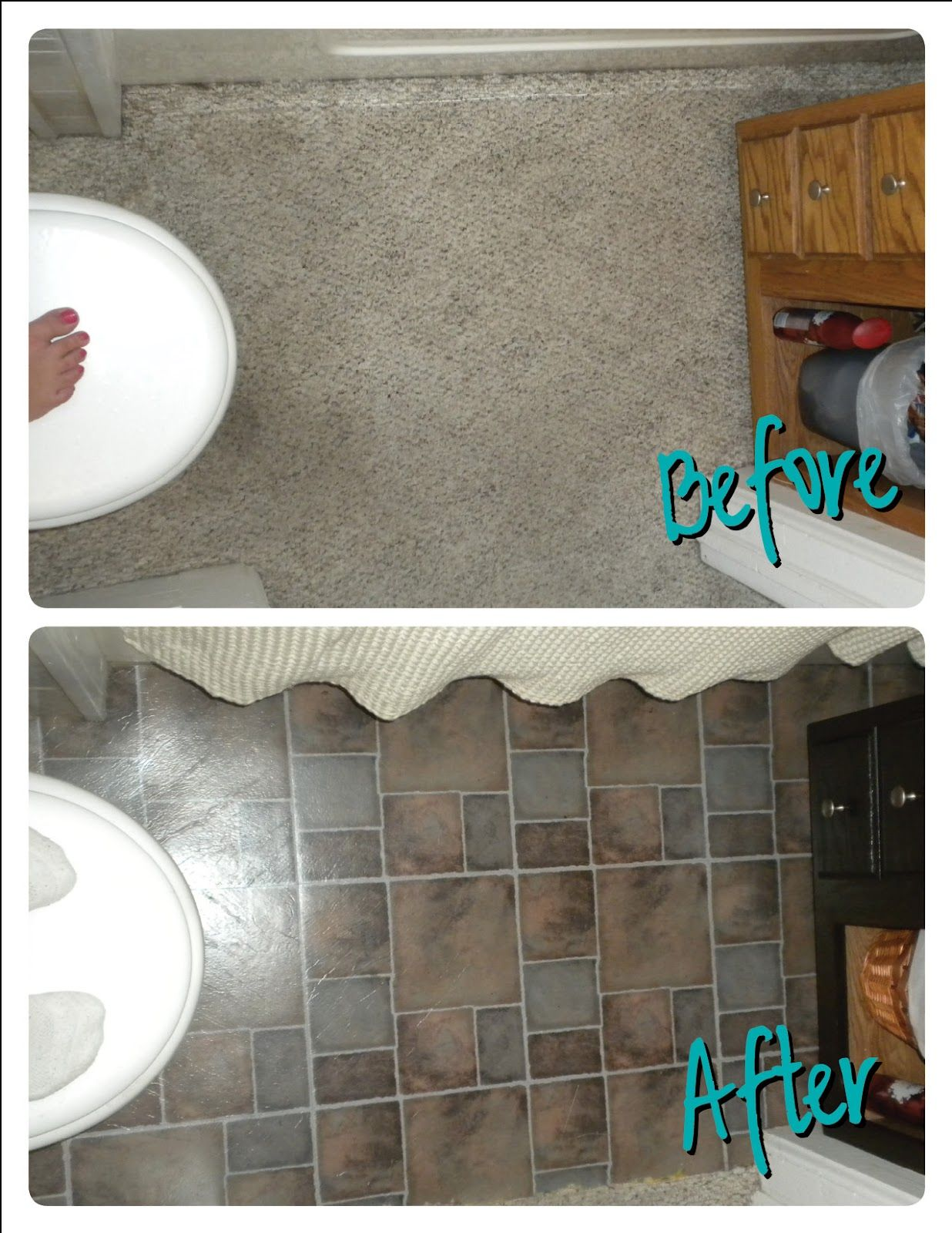 I D Like To Begin By Saying Anyone Who Installs Carpet In A Bathroom Should Get His Her Head Checked I Don T Car Bathroom Redo Bathroom Carpet Removing Carpet