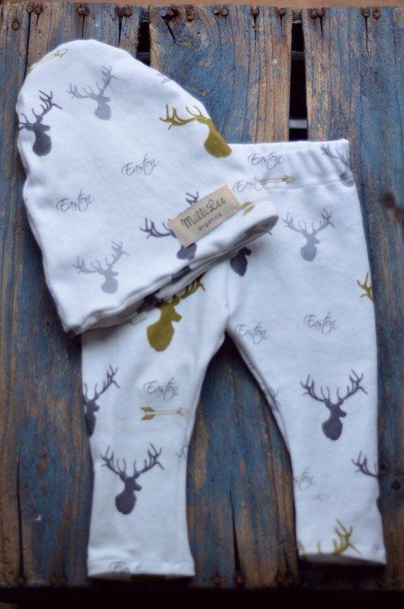 Baby Boy Name Leggings Baby Boy Organic by MilliLeeOrganics