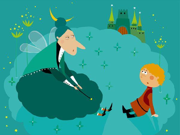 Jack and the Beanstalk by Violeta Dabija, via Behance