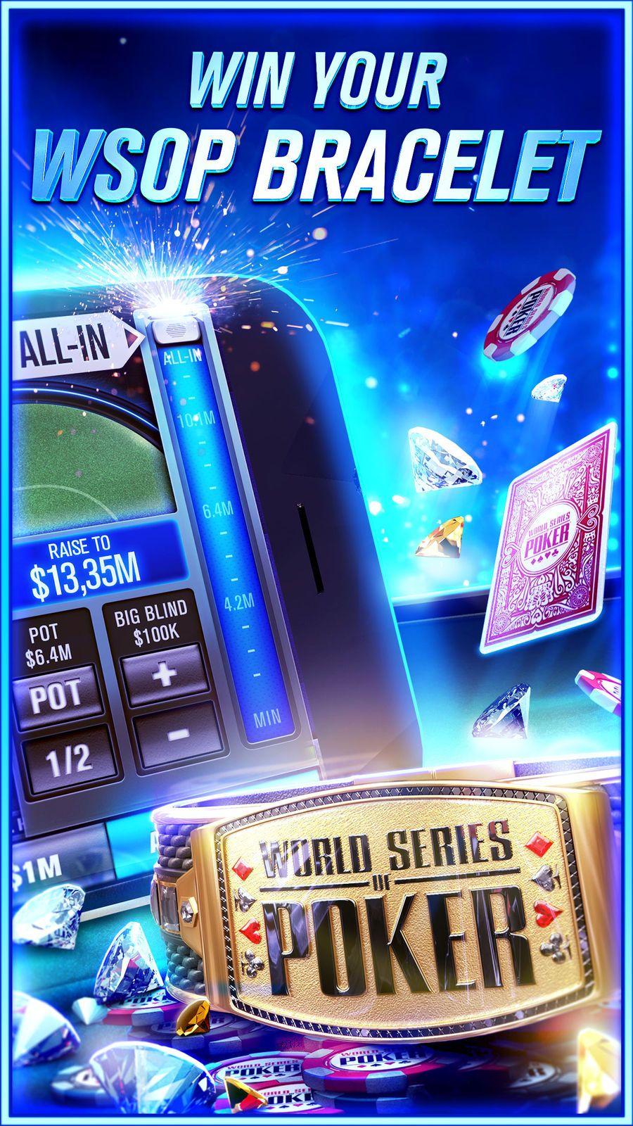 World Series of Poker WSOP EntertainmentGamesCardios