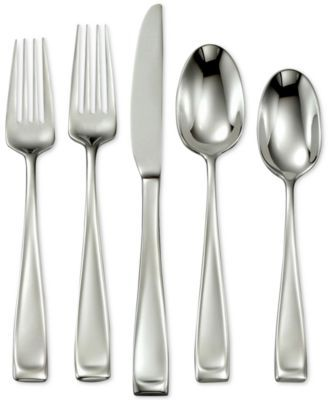 Moda 65 Pc Set Service For 12 Flatware Set Stainless