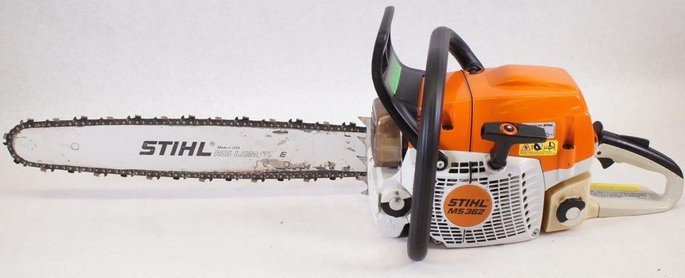 Stihl Ms362 Ms 362 20 Gas Powered Chainsaw Powerhead Bar Chain