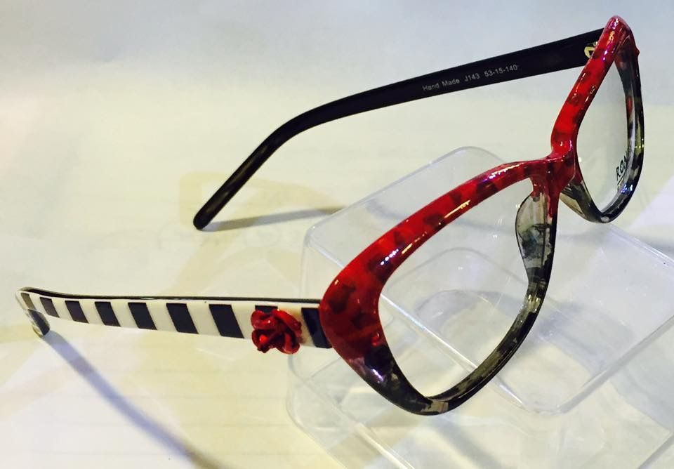 8d0e5f54fbe7 New from Roni Dori's hand painted collection. Ronex Eyewear | Roni ...