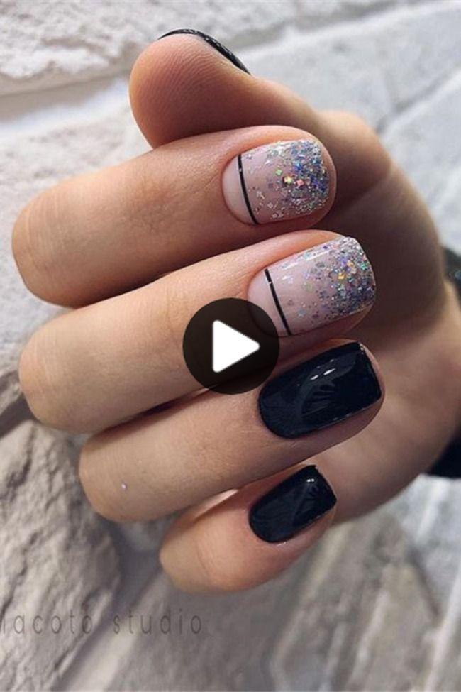 36 Korte Gel Nails Art Design Take You New Look Verbazend In 2020