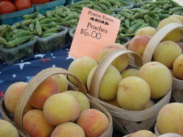 Penton Farms Peaches, Pepper Place Farmers Market, Birmingham, AL