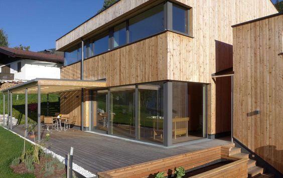 Einfamilienhaus - Holzhaus Modern - Was wir bauen - Meiberger - haus modern bauen