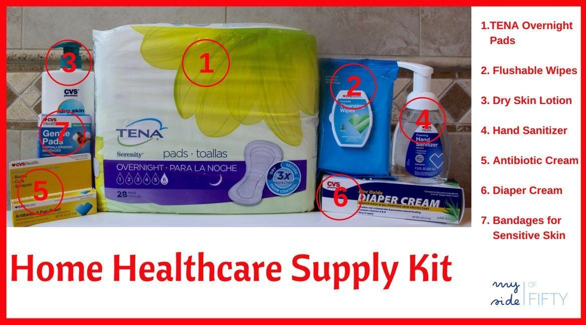 Home Healthcare Supplies For Elderly Patients How To Make A Kit Incontinence Products Incontinence Pads Elde Elderly Care Elderly Caregiver Health Care