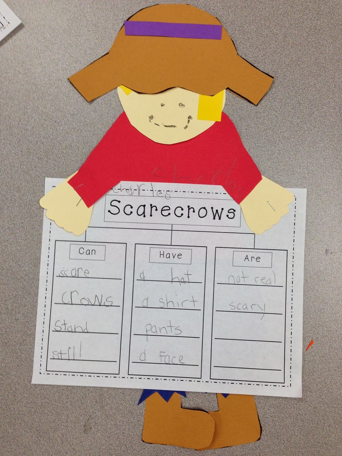 Scarecrow Unit Tons Of Math Reading And Writing