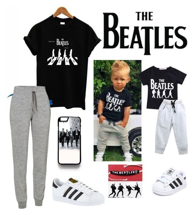 """The Beatles 264"" by mrswilkinson ❤ liked on Polyvore featuring Icebreaker and adidas"
