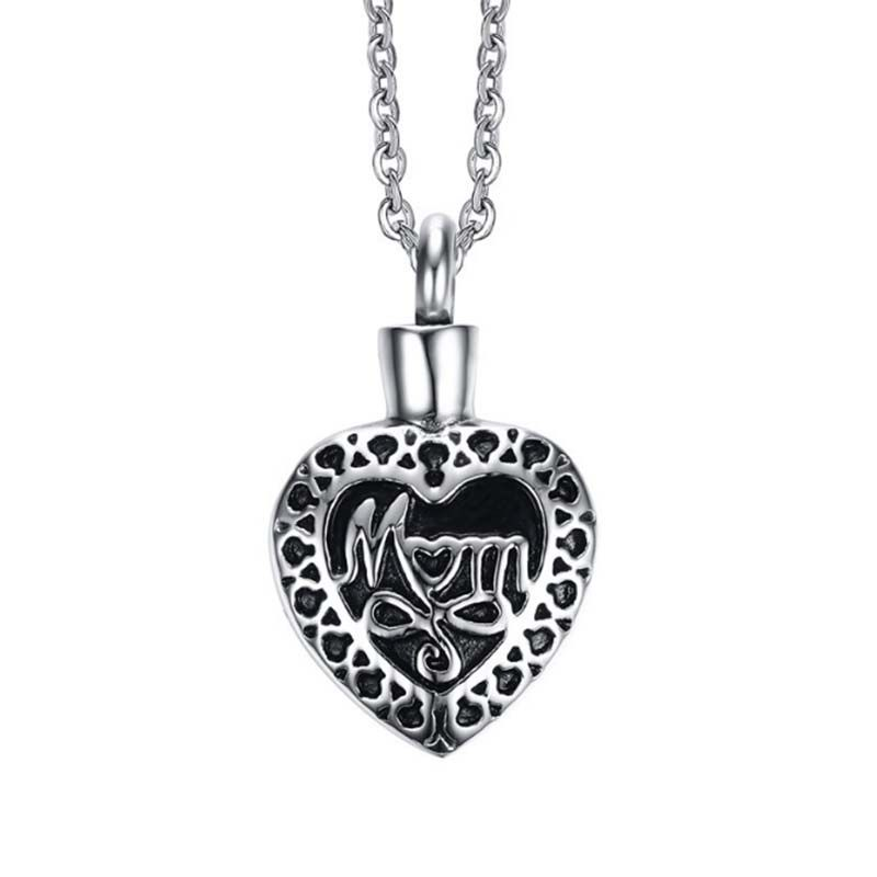 Heart urn pendant cremation jewelry ashes necklace cremation heart urn pendant cremation jewelry ashes necklace cremation necklace memorial personalized keepsake mom in my heart mozeypictures Images