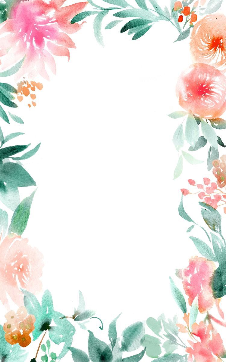 Flowers pool party pinterest watercolour spring and flower