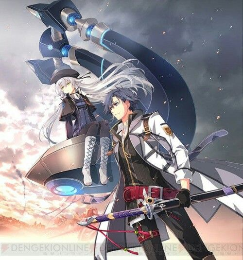 Rean And Altina Trails Of Cold Steel The Legend Of Heroes Character Art