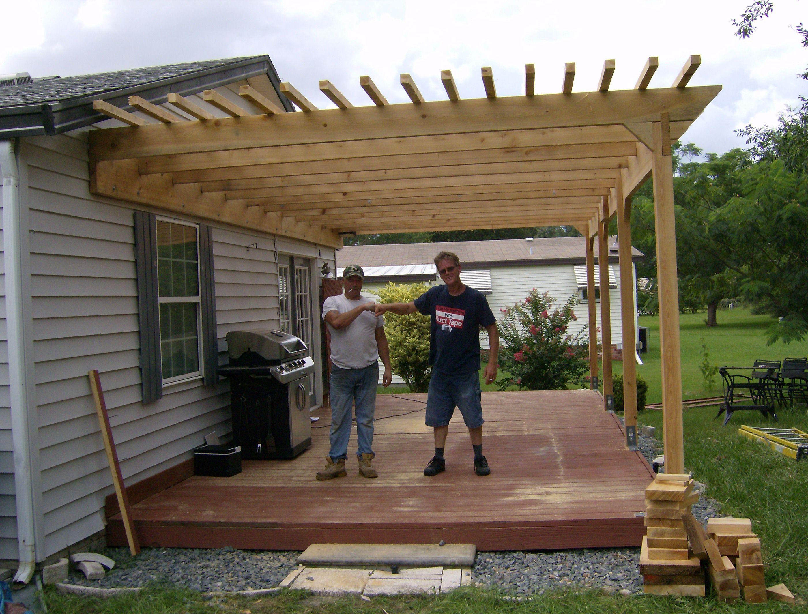 Inspiring pergola plans for more beautiful yard ideas for Diy modern pergola