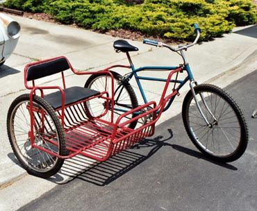 how to make a sidecar for a bicycle