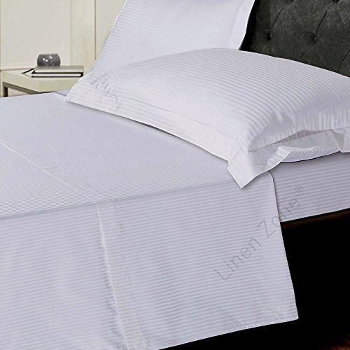 From 27.99 Linen Zone 800 Thread Egyptian Cotton 5 Star Hotel Quality Deep  Fitted Bed Sheet King   White | Home Bed And Bath | Pinterest | Fitted Bed  Sheets ...