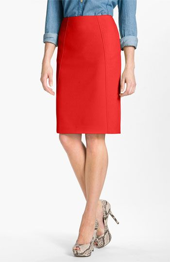 40d66fcb1a My favorite work skirt. Halogen® Seamed Pencil Skirt available at #Nordstrom