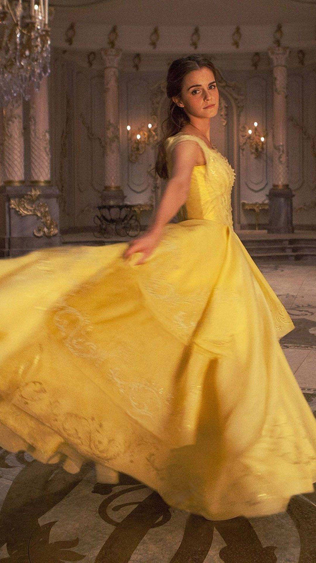 Disney Princess Belle Beauty And The Beast Ariel Emma Watson iphone case