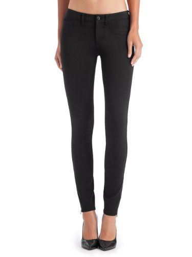 GUESS Brittney Skinny Zip Ponte Pants GUESS. $98.00