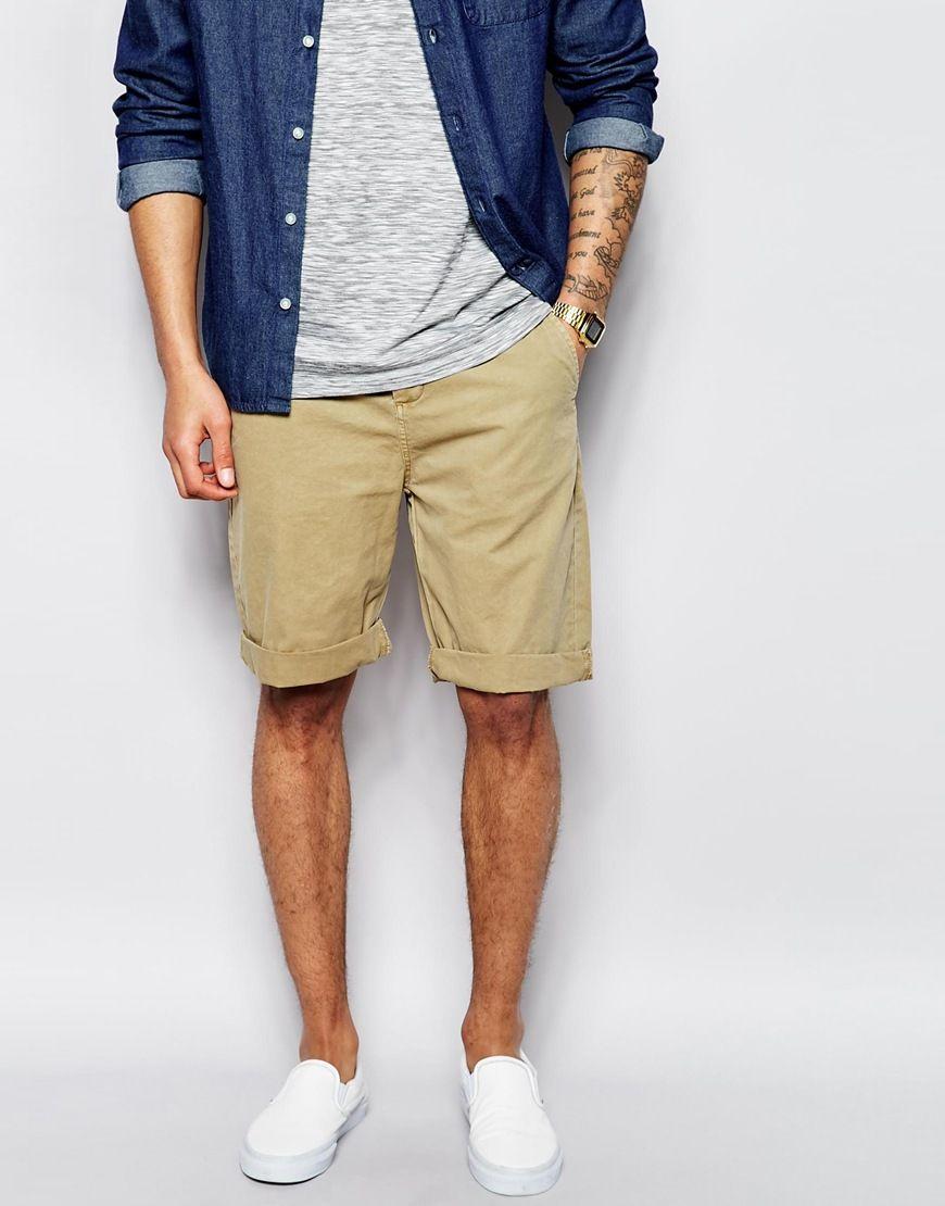 3952210e3 Como Usar Bermuda de Sarja Masculina (atualizado | Men's style ...