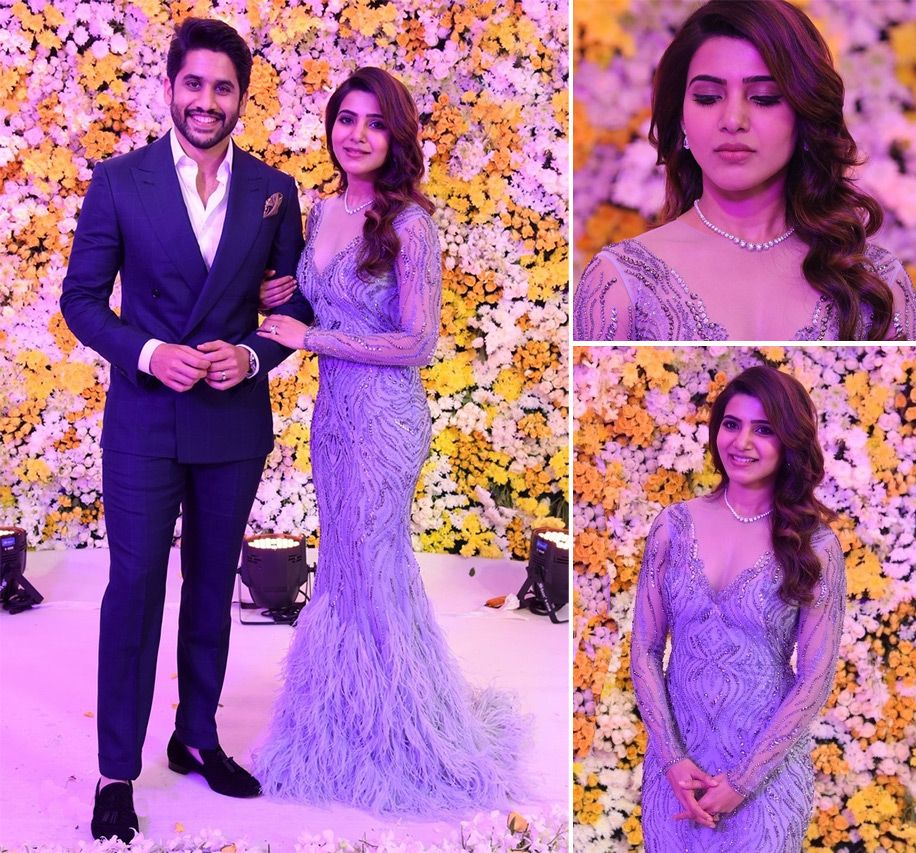 Celebrity Wedding Reception Decor: Samantha Ruth Prabhu In 2020