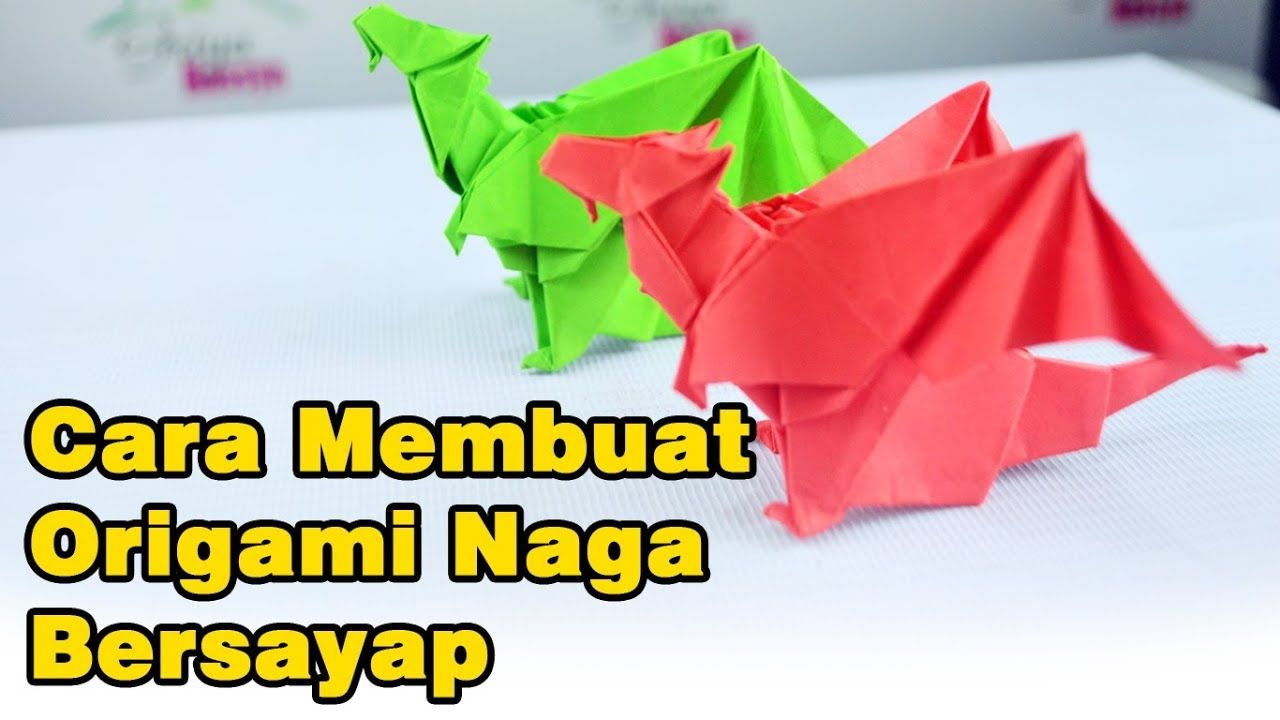How To Make Origami Dragons Origami Naga Dragon