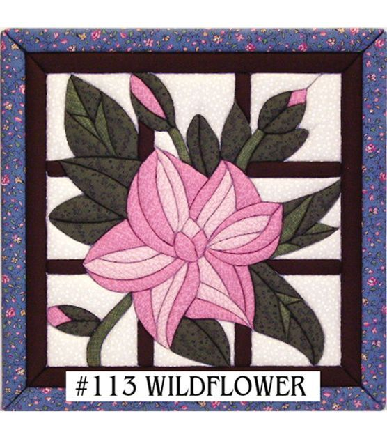 "Wildflower Quilt Magic Kit-12""X12"""