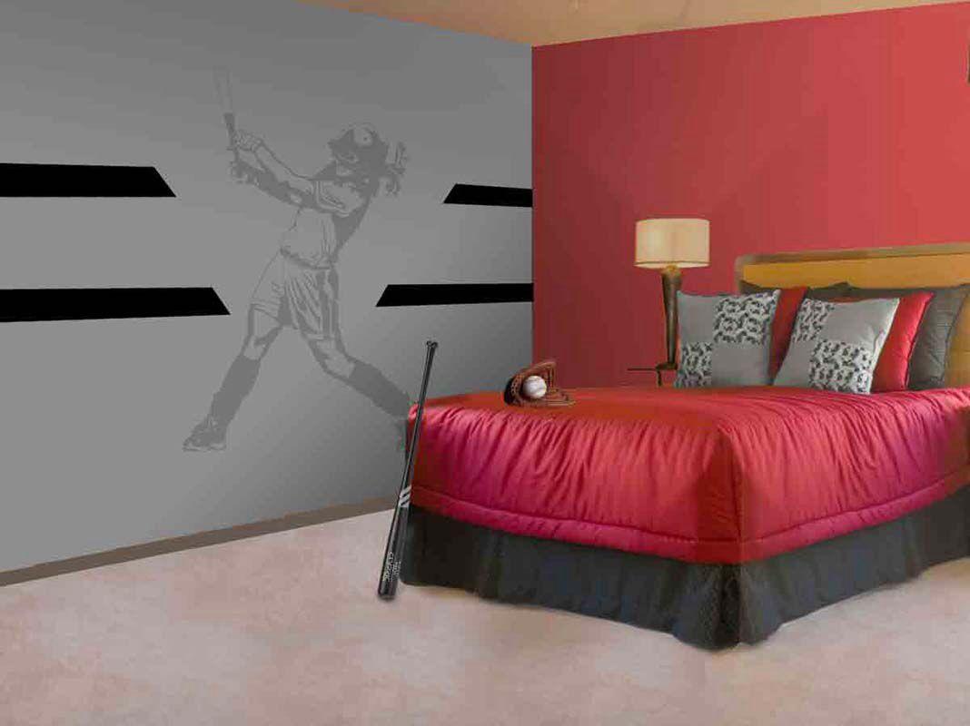 I Want That Wall Decor So Bad Softball Room Girl Room New Room Softball decorations for bedroom