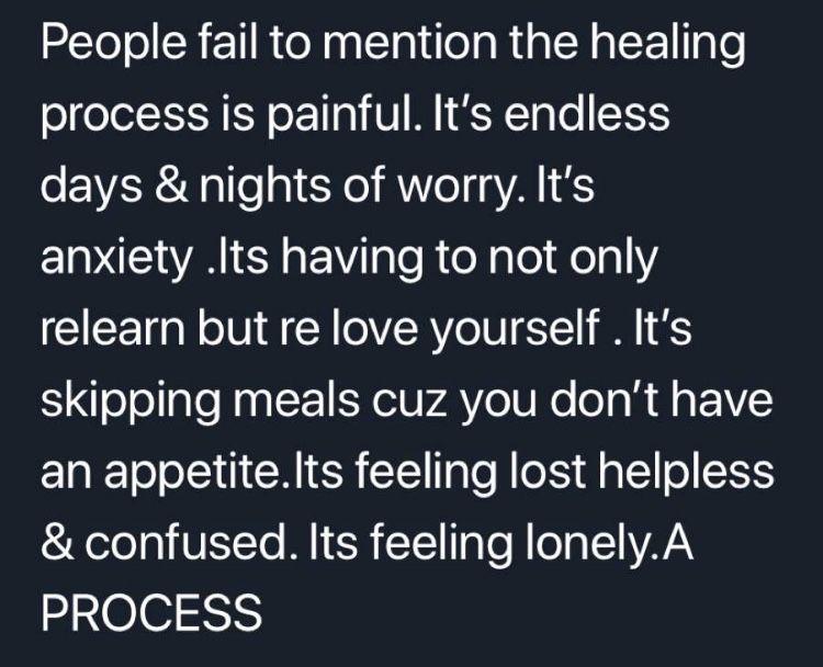 Pin By Fazila Faridi On Fav Memes Feeling Lost Healing Process Feelings