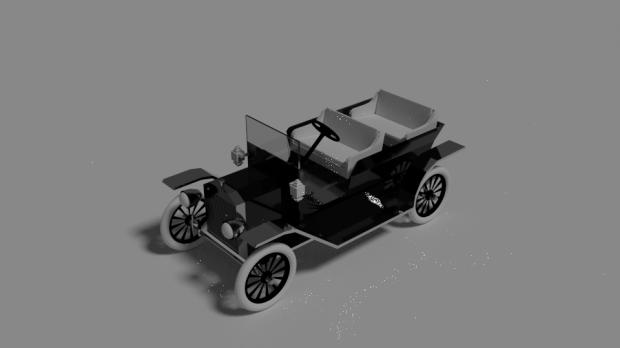 Ford Model T 3d Model Free Ford Models Ford Model