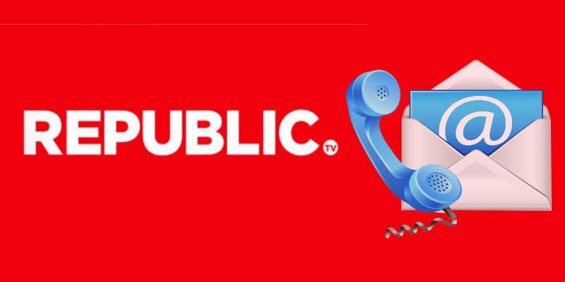 Republic Tv Office Contact Address Phone Number Email Id Whatsapp Number Phone Numbers Republic Instagram Handle