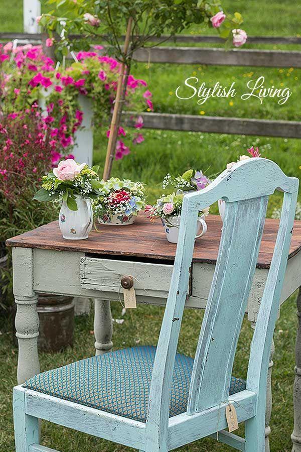 Shabby Chic Deko Garten For The Home Pinterest