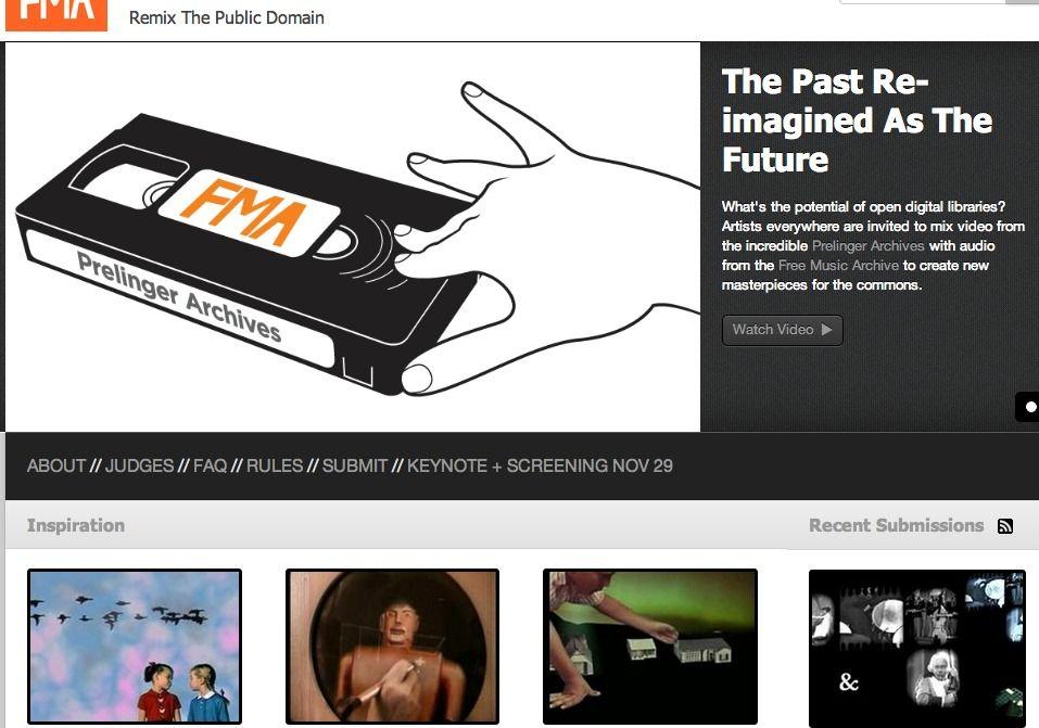 Remix the Public Domain