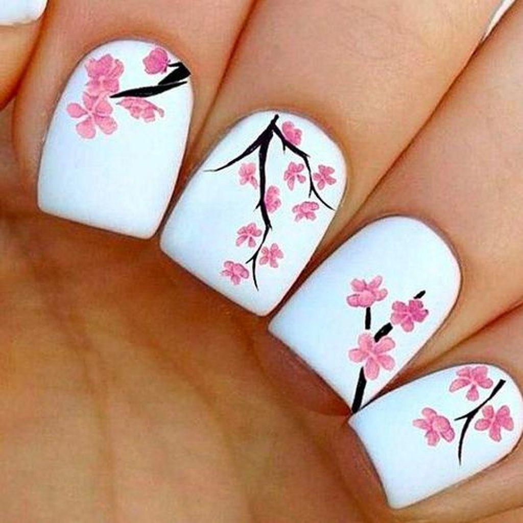 Blumennagelentwürfe für frühling und sommer lilu pinterest