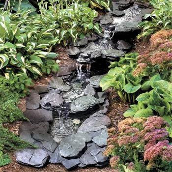 Diseño de Fuentes para el Jardín cascadas Pinterest Garden